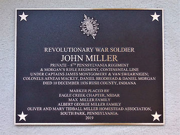 John Miller - Revolutionary War Soldier.