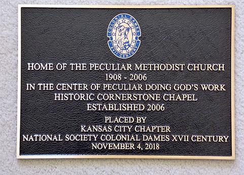 Peculiar Methodist Church picture - Copy