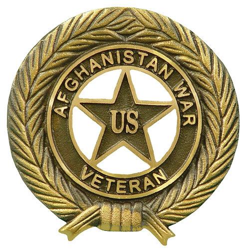 Afghanistan War Veteran Service Marker Bronze