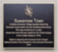 Suwannee Town plaque 1.JPG