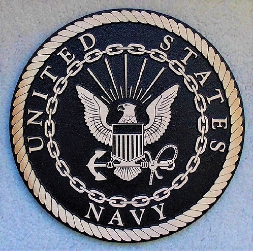 U.S.  Navy Cast Bronze Emblem