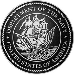 Department of the Navy Cast Aluminum