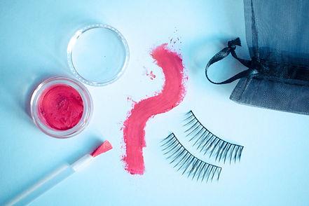 eyelash lipstick free makeup artist