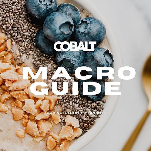 Nutrition 101/Macro Guide + Recipes!