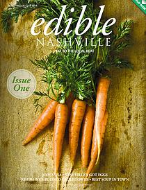 Wedge Oak Farm in edible Nashville's inaugural issue