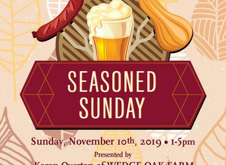 Seasoned Sunday on November 10, 2019