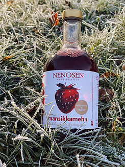 Mansikkamehu kylmäpuristettu, Suonenjoki