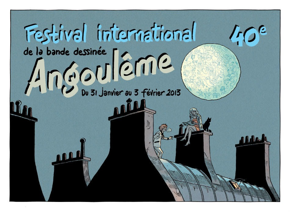 Int. Cartoon Festival, Angouleme