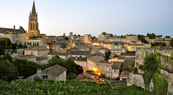 Saint Emilion at Dusk