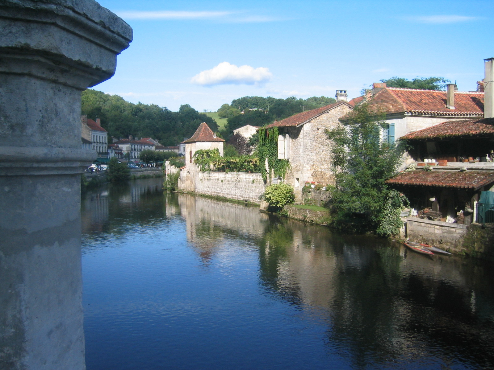 Brantome on the Dronne River