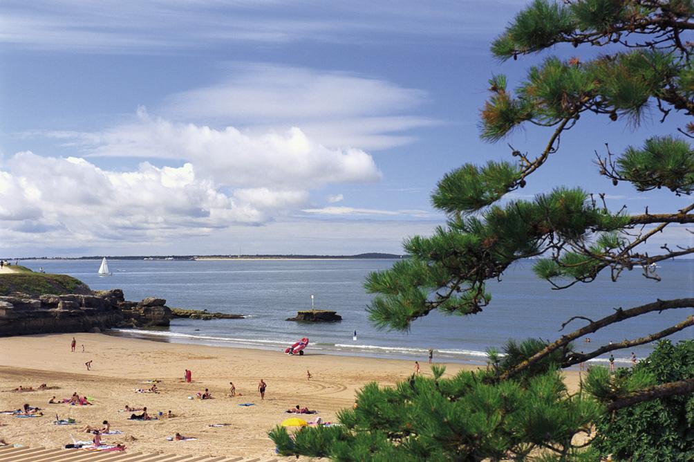 Royan, Le Chay beach