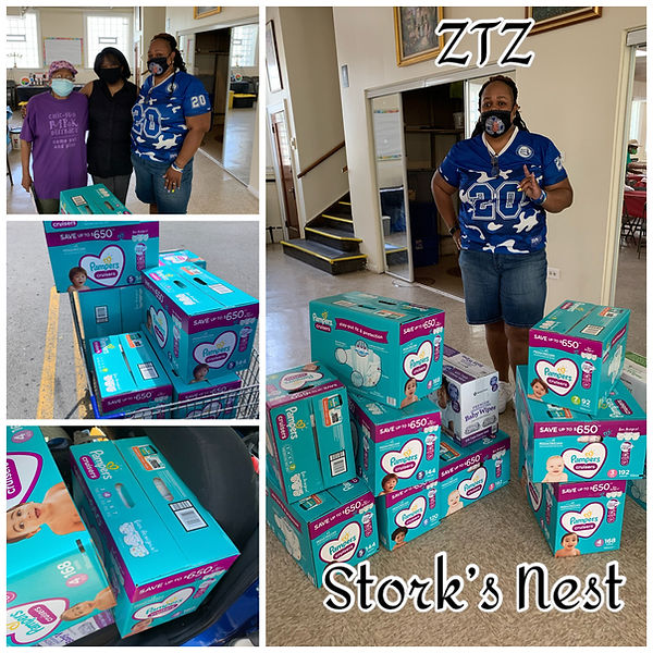 Storks Nest Diaper and Wipes Donation -