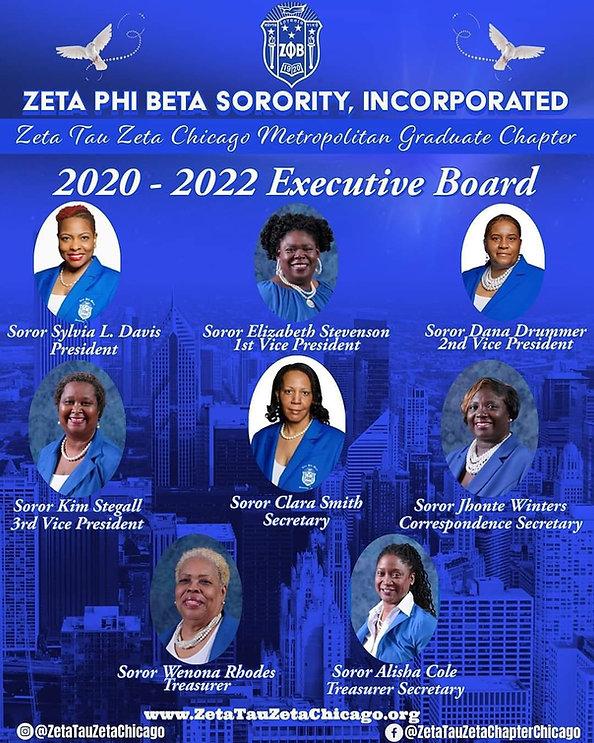 Executive Board Elected Board 2020-2022.