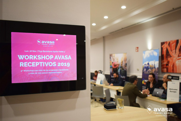 WORKSHOP AVASA RECEPTIVOS 2019