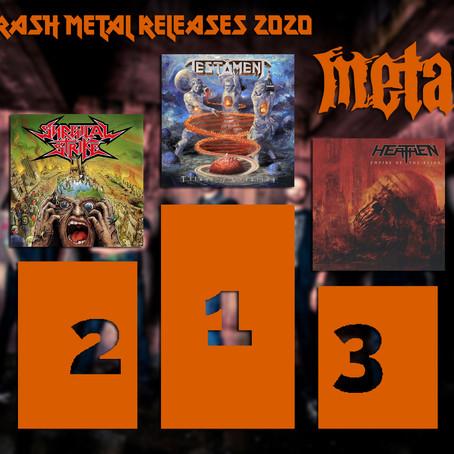 BEST THRASH METAL ALBUM 2020
