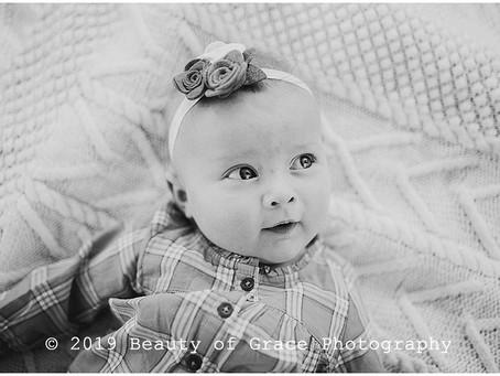 Grace | 3 Months | Joplin Missouri Baby Photography