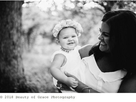 Lucy is ONE! // Lucy's First Birthday & Williams Family Session