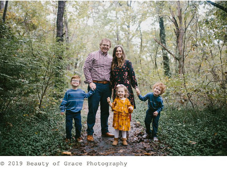 Rainy Family Session // Joplin Missouri Family Photography Session.