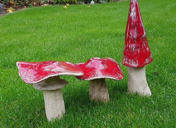 Decoratieve paddestoelen