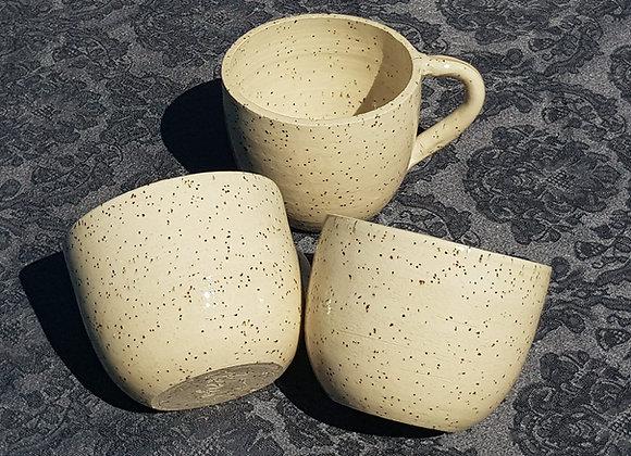Koffietas spikkelklei
