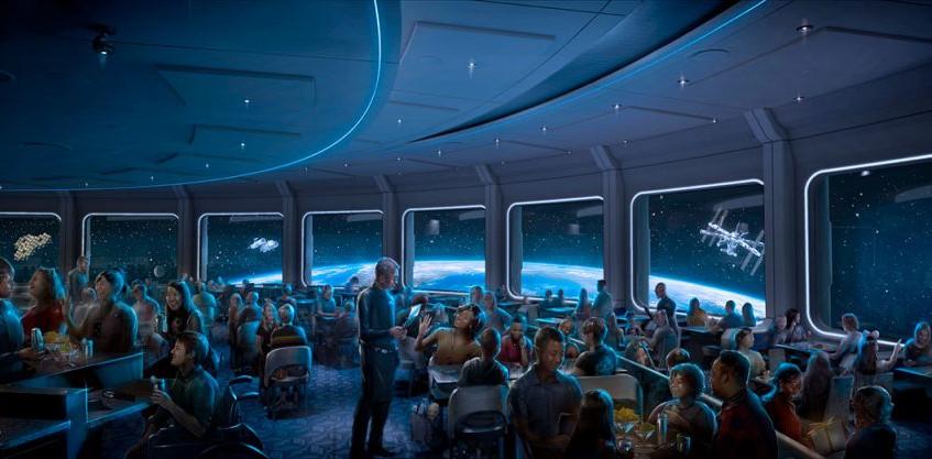 restaurante mission space