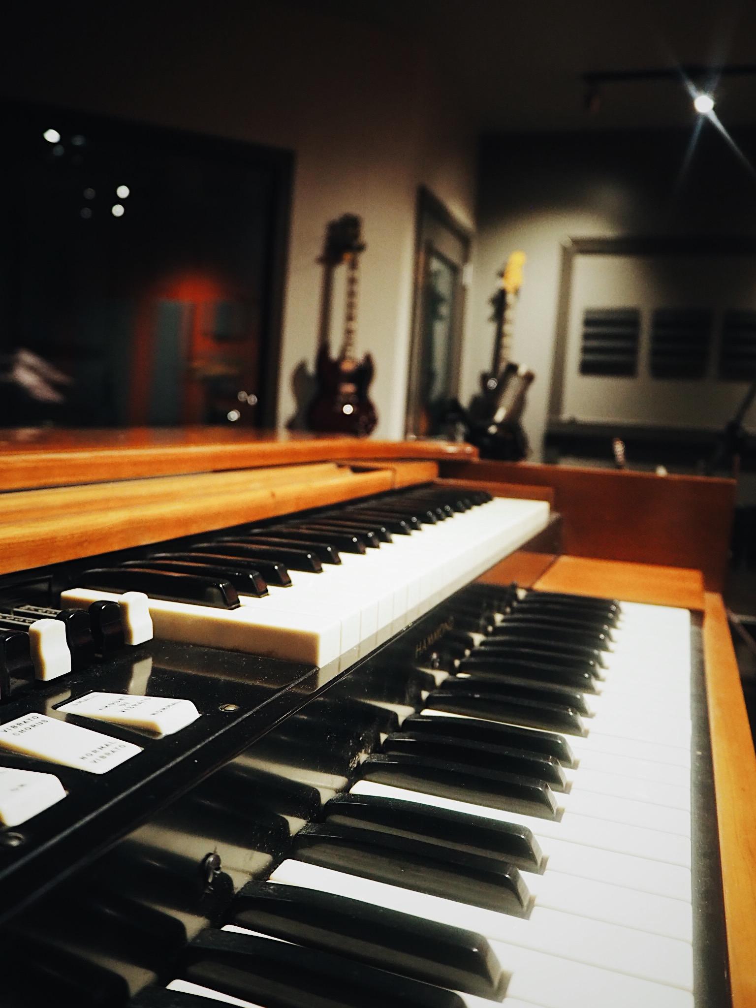 Pianos in Studio A