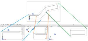 Elforgatott függő nézetek / Rotated Dependent Views