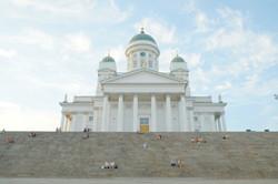 The center of Helsinki