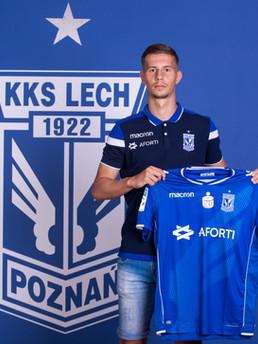 Lubomir Satka - Lech Poznan - Slovakia National Team