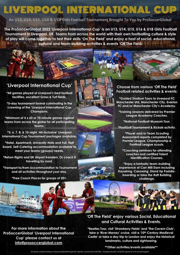 ProSoccerGlobal Liverpool International