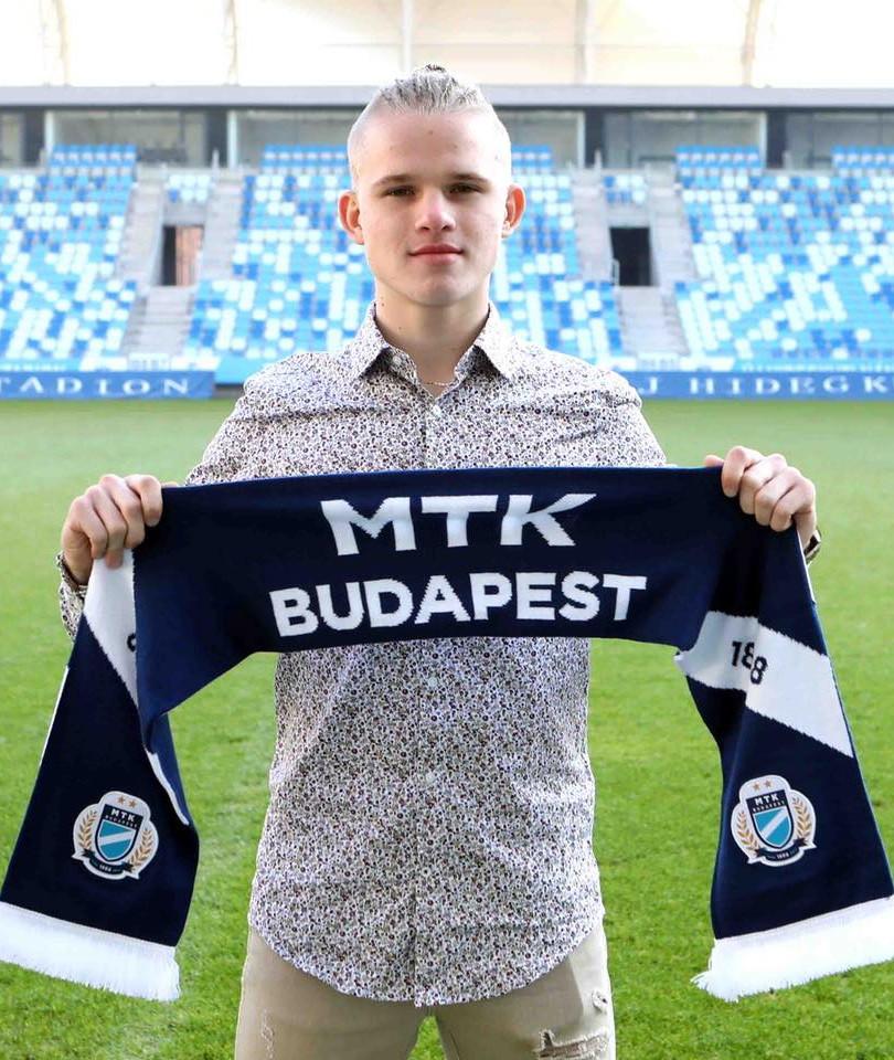 Barnabas Biben - MTK Budapest & Hungary  U18