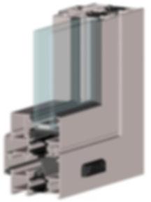 стеклянный дверь