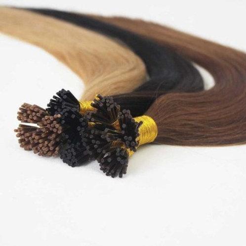 "20"" MICRO BEAD HAIR EXTENSIONS BROWN"