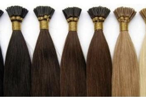 "24"" MICRO BEAD HAIR EXTENSIONS BROWN"