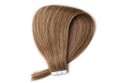 """20"""" TAPE HAIR EXTENSIONS BROWN"""