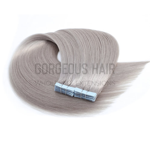 """20"""" TAPE HAIR EXTENSIONS BLONDE"""