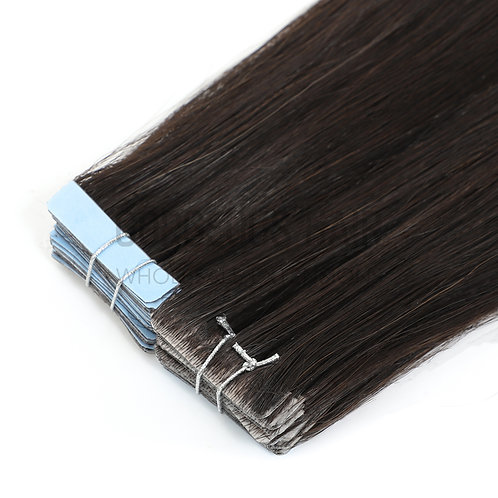 """24"""" INVISIBLE TAPE HAIR EXTENSIONS BROWN"""