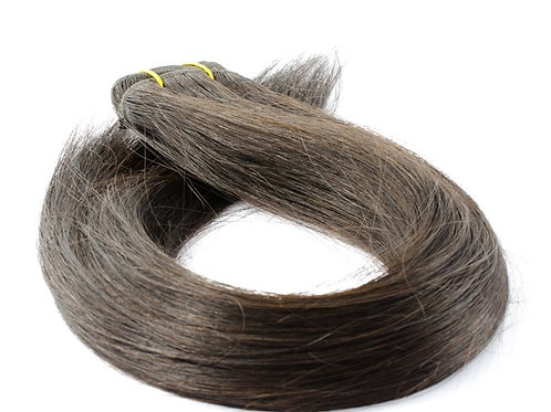"""20"""" MICRO WEFT HAIR EXTENSIONS BROWN"""