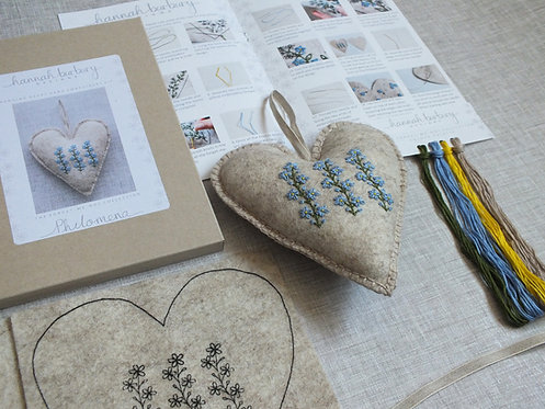 Philomena Forget-me-not Hand Embroidery Kit