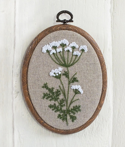 Ivy Hand Embroidery Kit