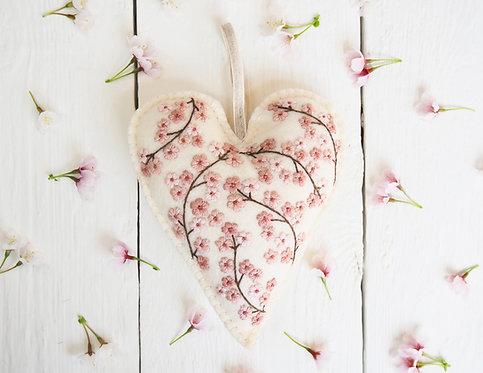 Betsy Heart Hand Embroidery Kit