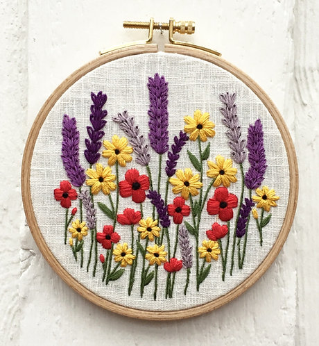 Wilma Embroidery Kit