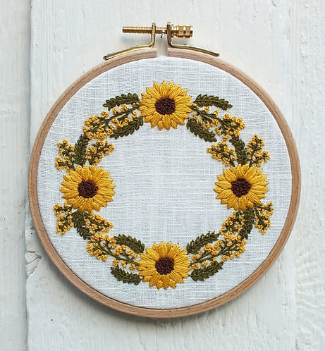 Willow Hand Embroidery Kit