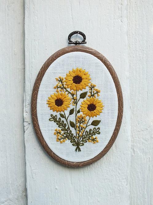 Freya Embroidery Kit