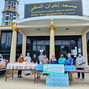 TMTA ร่วมกับ TV3  มอบอาหารและน้ำดื่มให้ผู้เดือดร้อนจากภัยโควิด-19