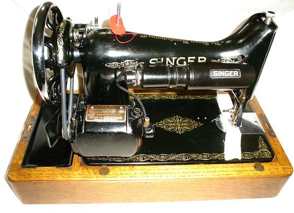 Singer 99k sewing machine,