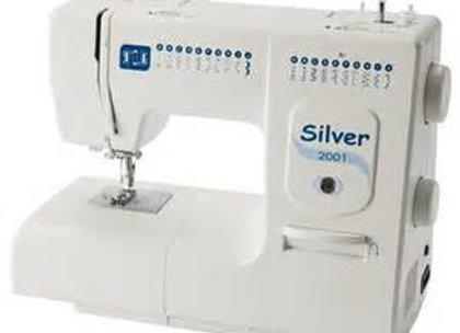 Silver 2001 sewing machine