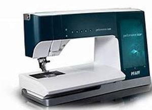 Pfaff Performance Icon sewing machine  (IDT)