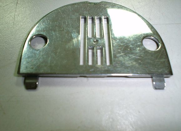Jones front load needle plate. (Straight stitch)