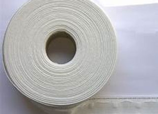 Curtain Tape 2 inches 5.5 cm (White) 100 metre Roll